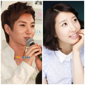 Super Junior's Leeteuk and Solo Artist Park Inyoung