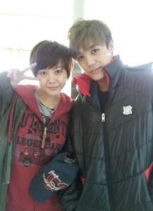 MBLAQ's Mir and Actress Go Eun Ah