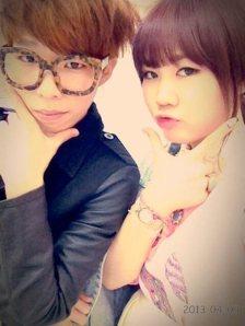 Akdong Musician's Chan Hyuk and Soo Hyun