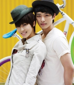 Actress Ha Ji Won and Actor Jeo Tae Soo