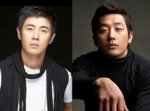 Actors Ha Jung Woo and Cha Hyun Woo