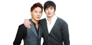 JYJ's Junsu and Actor Kim Moo Young