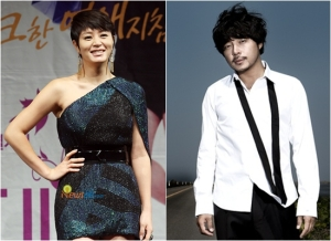 Actress Kim Hye Soo and Actor Kim Dong Hyun