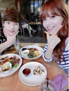 N.Flying's Jaehyun and Rainbow's Jaekyung