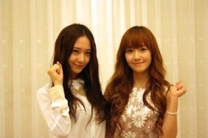 Girls' Generation's Jessica and f(x)'s Krystal